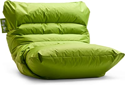 Remarkable Amazon Com Big Joe 645185 Dorm Bean Bag Chair Spicy Lime Gmtry Best Dining Table And Chair Ideas Images Gmtryco