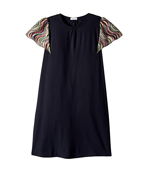 Missoni Kids Jersey Dress w/ Lace Trim (Big Kids)