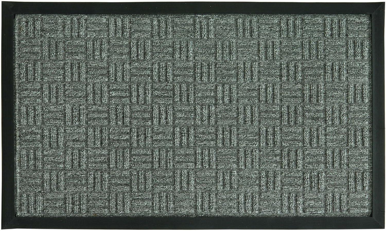 Bacova Guild 05705 Saver II Door Mat, 24-Inch by 36-Inch, Grey