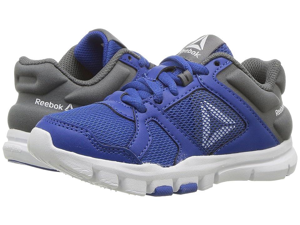 Reebok Kids Yourflex Train 10 (Little Kid/Big Kid) (Blue/Alloy) Boys Shoes