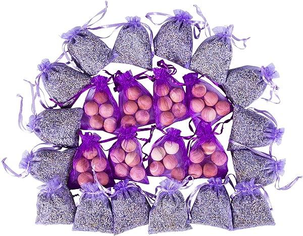 D Vine Dev 24 Lavender Cedar Sachets Bag 16 Lavender Sachets 8 Cedar Sachets For Clothes Storage Naturally Scented Freshener For Closet Drawer Dresser Wardrobe And More By Lavande Sur Terre