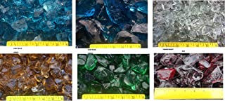 5 Lbs. Landscape Glass ~ Green, Blue, Red, Amber, Black, Clear ~ by the Pound