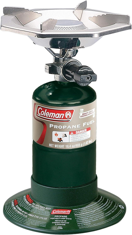 Coleman 765690-SSI - Estufa para botellas, color verde, N/A