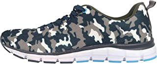 Boras SP Sports Camo Trainers in Plus Sizes Multicoloured 5202-1561 Large Men's Shoes