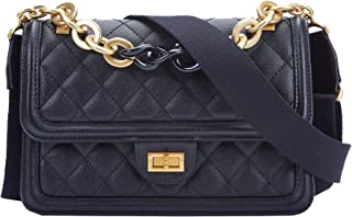 Crossbody Bag for Women Travel Evening Handbag Organizer Shoulder with Metal Chain Strap