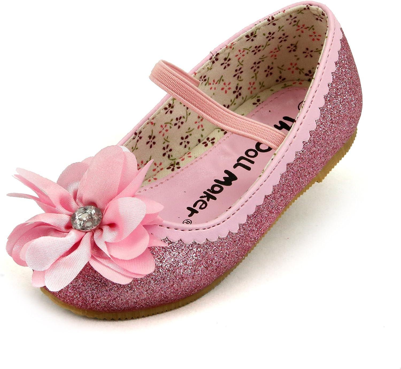 The Doll Maker Daisy Flower Flat Shoe