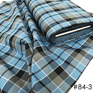"""Uniform Plaid Fabric - 60"""" Wide x 1 Yard Long 