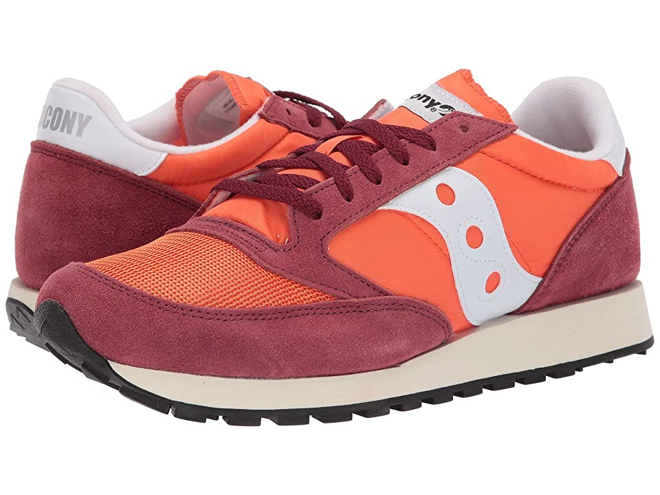 Saucony Originals Jazz Original Vintage (Flame/Maroon) Men