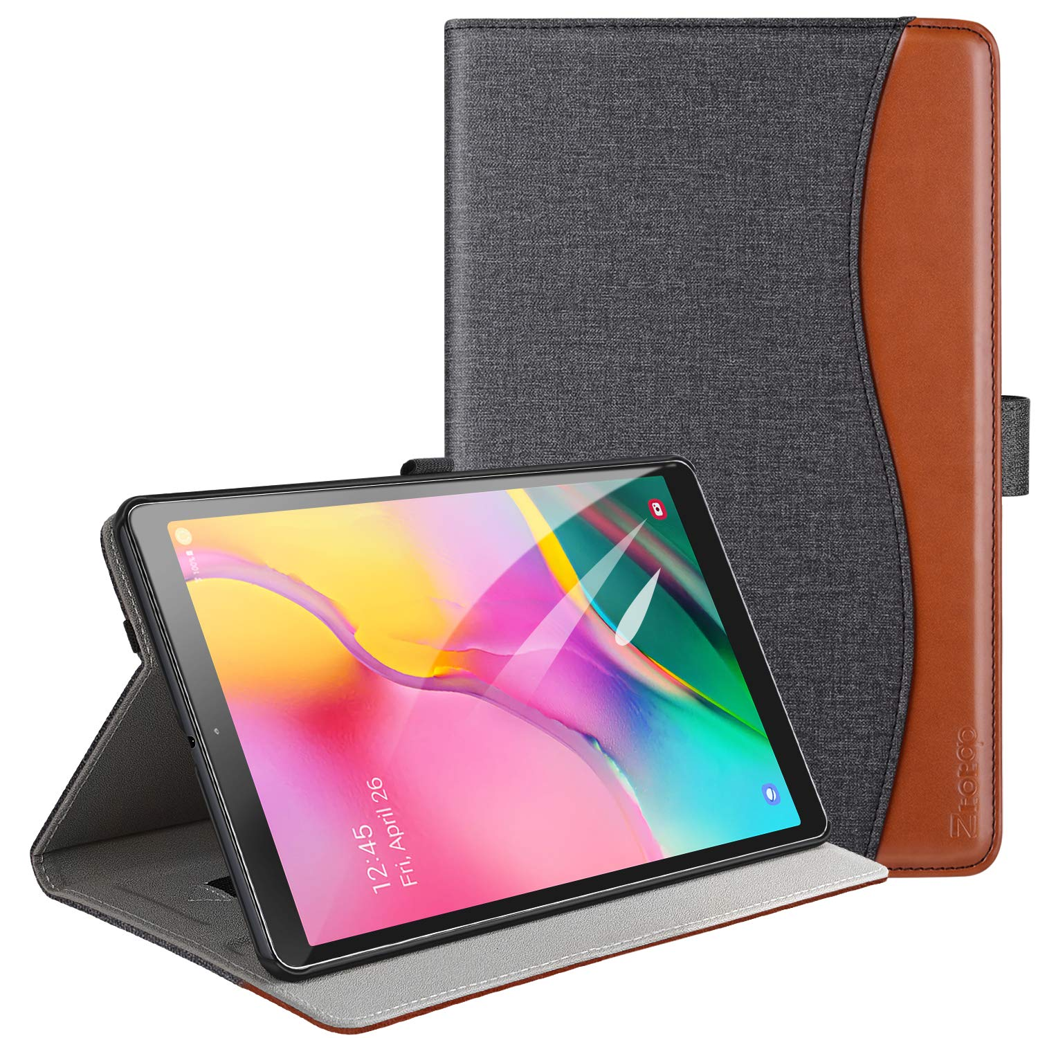 ZtotopCase Samsung SM T510 Leather Multiple