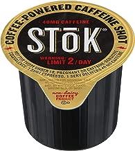 SToK Caffeinated Black Coffee Shots, 264 Single-Serving Shots, Single-Serve Shot of Unsweetened Coffee, Add to Coffee for Extra Caffeine, 40mg Caffeine (Packaging May vary)
