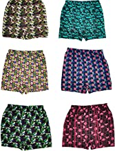 Esteem Boys and Girls Printed Trunk Briefs Drawer Pack of 6 Pieces