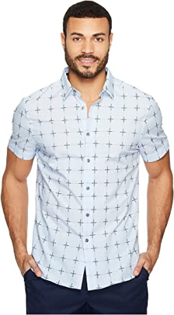 Perry Ellis - Broken Check Dobby Shirt