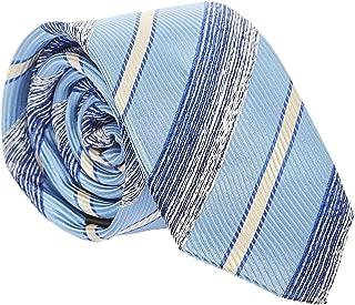 Pierre Cardin Neck Tie for Men - Free Size, Medium Blue