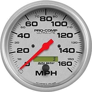 AutoMeter 7021-UL Ultra-Lite Dash Panel Kit 6 pc Tach/MPH/Fuel/OilP/WTMP/Volt 8K RPM/160 MPH/100 PSI 100-250 F/8-18V/0E-90F Ohms Ultra-Lite Dash Panel Kit