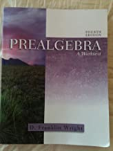Prealgebra: A Worktext