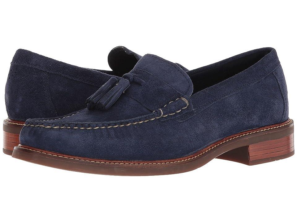 Cole Haan Pinch Sanford Tassel Loafer (Marine Blue Suede) Men