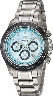 ساعة اوشينت بياريتز للرجال انالوج كوارتز مع سوار من الستانليس ستيل، فضي، 20 (OC6111)