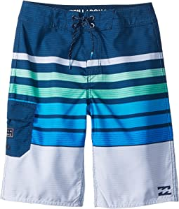 Billabong Kids - All Day OG Stripe Boardshorts (Toddler/Little Kids)