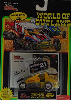 Sprint CarWorld of Outlaws Pennziol#22 Racing Champions124 scare die cast1997 Edition Dirt Racing CarFree Shipping