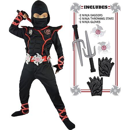 Spooktacular Creations Disfraz de Ninja para Niños (S)