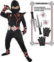 Spooktacular Creations Boys Ninja Deluxe Costume for Kids