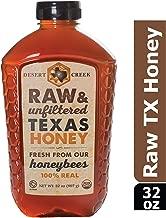 Desert Creek Honey Raw, Unfiltered, Unpasteurized Texas Honey, 2 lb., 32 oz.