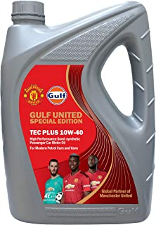 Gulf Tech Plus 10W-40 Engine Oil - 4 Liter
