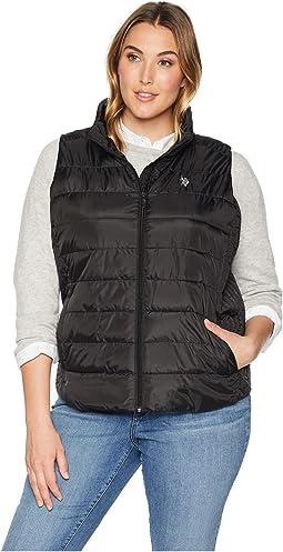 Plus Size Basic Vest