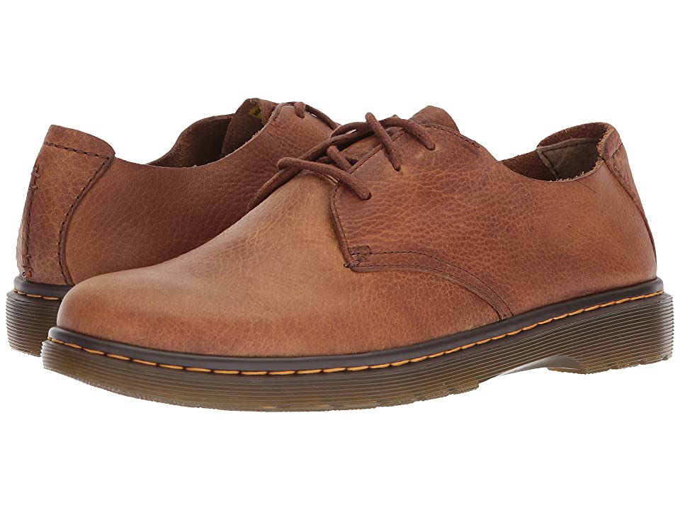 Dr. Martens Elsfield 3-Eye Shoe (Tan Grizzly) Men