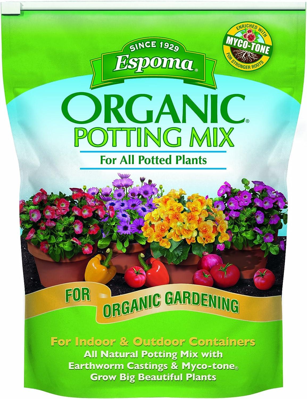 Espoma AP8 8-Quart Ranking TOP7 Potting Mix Organic Max 68% OFF
