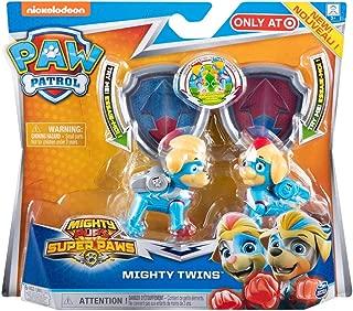 Nickelodeon Paw Patrol Mighty Twins 2pc