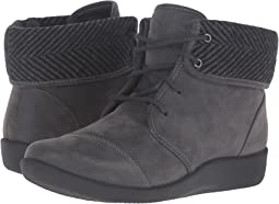 Grey Synthetic Nubuck