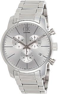 Calvin Klein 32003040 - Orologio da uomo rotondo, analogico, al quarzo, in acciaio INOX