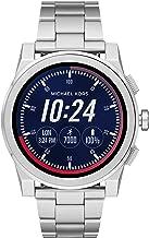 Michael Kors Men's Silvertone Grayson Smartwatch
