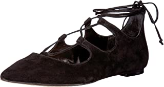 Emmari Suede Lace-up Flats Women's Taupe