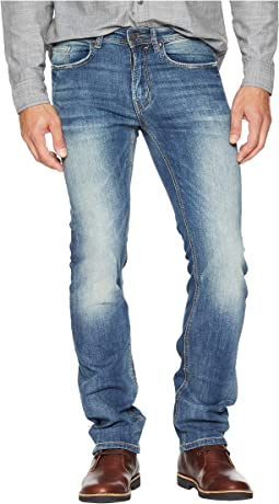 Six-X Slim Straight Jeans in Vintage Sanded