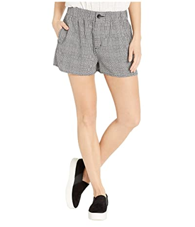 Volcom Ur A Plaid Girl Shorts (Black Combo) Women