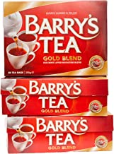 Barry's Tea Gold Blend 80ct 3-Pack (240 Teabags), Direct from Barry's Tea in Ireland