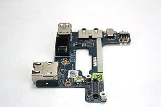 3DD5J - Dell Latitude E6510/ Precision M4500 Power Button / Audio Ports / USB / RJ-45 IO Circuit Board - 3DD5J