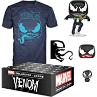 Funko Marvel Collector Corps, Subscription Box, Venom Theme, September, Large T-Shirt Size,...