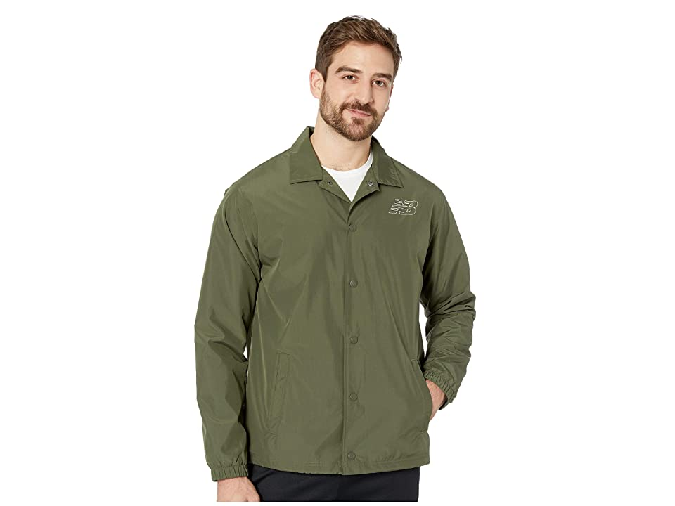 New Balance Classic Coaches Jacket (Dark Covert Green) Men