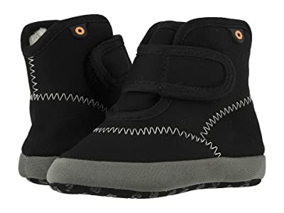 Bogs Kids Elliot II Solid (Infant/Toddler) (Black) Boy