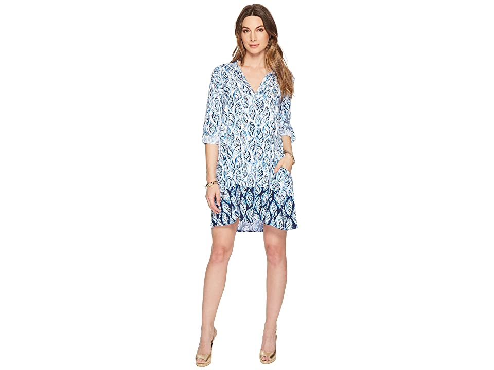 Lilly Pulitzer Lillith Tunic Dress (Resort White Drop in Engineered) Women