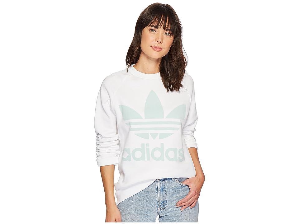 adidas Originals Oversized Sweater (White) Women