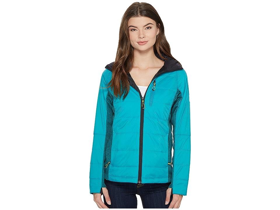 Image of 686 Glacier Eve Primaloft Insulator (Teal Cire) Women's Coat