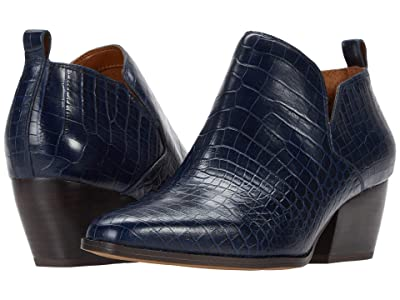 Franco Sarto Dingo (Navy Croco) Women