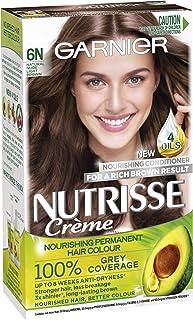 Garnier Nutrisse Permanent Hair Colour 6N, Nude Light Brown