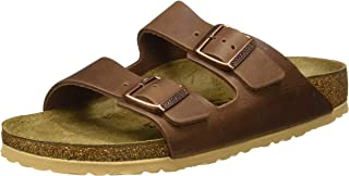 Birkenstock Men's Sandales Arizona Cuir Naturel