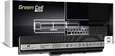 Green Cell Pro Serie A32-K52 Laptop Akku f r ASUS A52 K52 K52D K52F K52J K52JC K52JE K52JR K52JT K52N X52 X52J X52N Original Samsung SDI Zellen Zellen 5200mAh Schwarz Schätzpreis : 48,95 €
