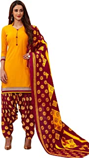 Jevi Prints Women's Cotton Printed Straight Stitched Salwar Suit Set (ND-1924)
